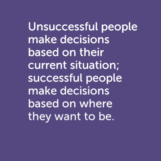"""Heard this quote online. """"Unsuccessful people make"""