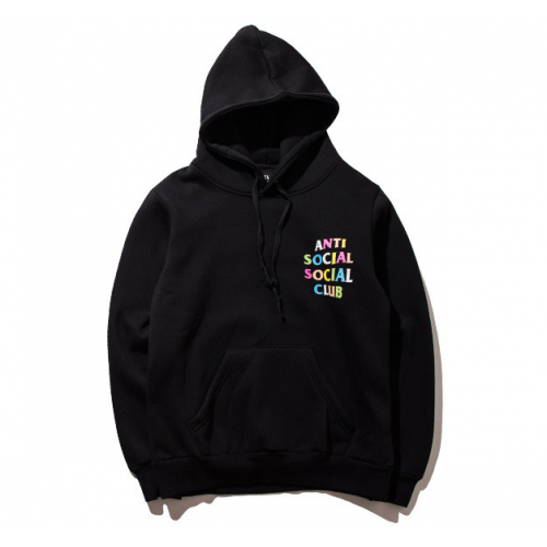 53e6e0806dc2 Anti Social Social Club ASSC Multciolor Hoodie (Black) în 2019 ...