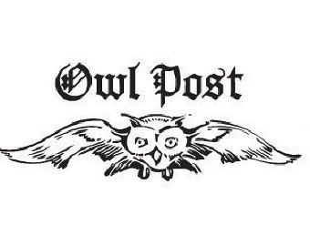 Harry Potter Owl Post Rubber Stamp