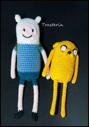 PACK Finn and Jake | Ganchillo amigurumi, Muñecos de ganchillo ... | 425x298
