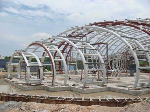 The Pod Pavilion By Manfredi Nicoletti In Kuala Lumpur, Malaysia