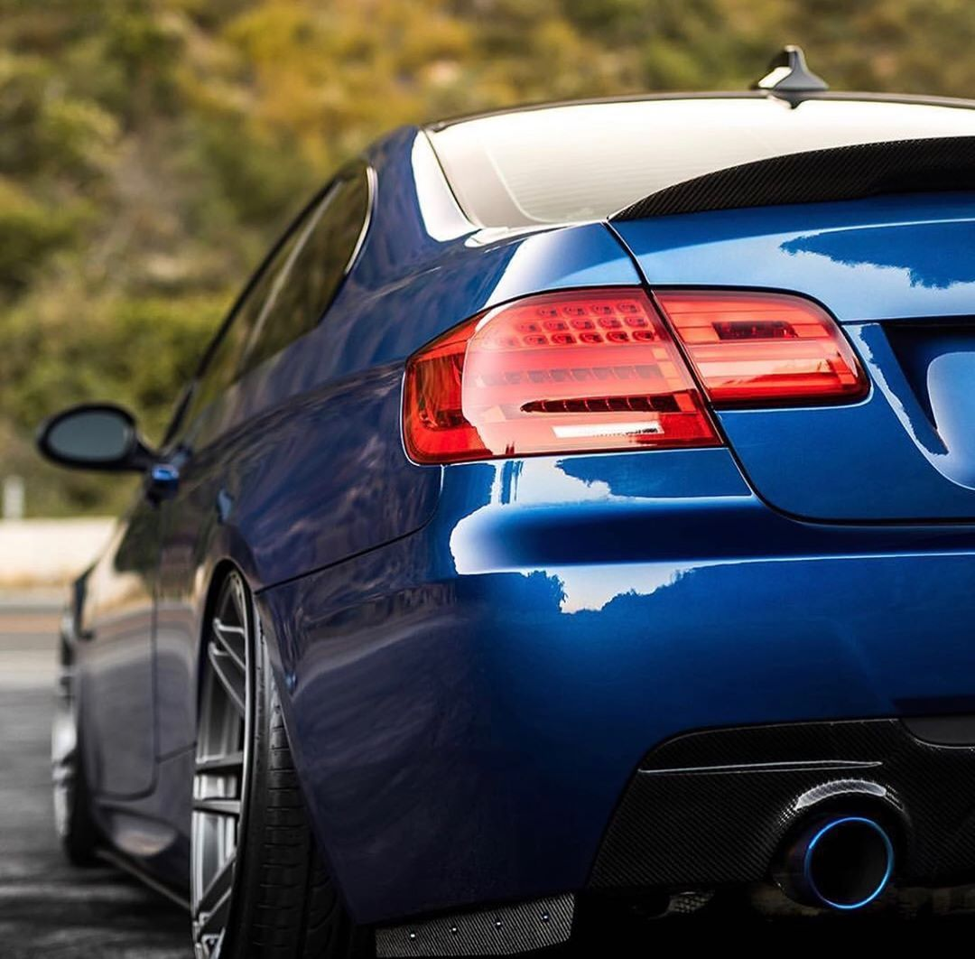 Bmw E92 3 Series In Le Mans Blue Gotchuckz With Images Bmw