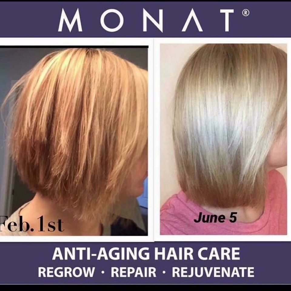 Monat is a natural & botanically based antiaging hair