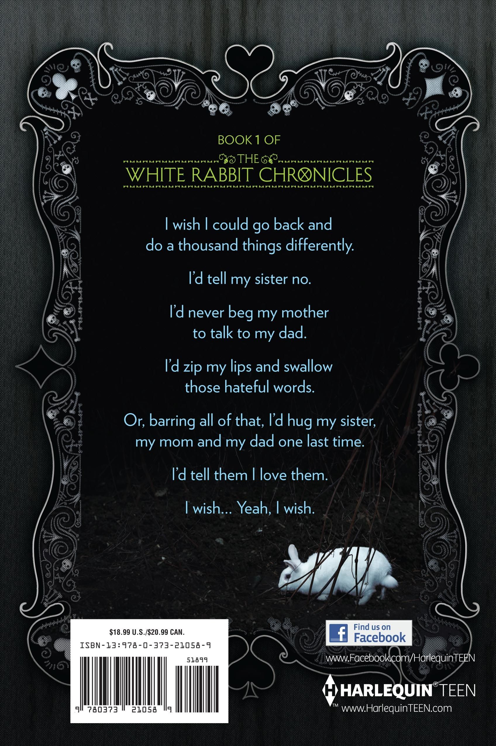 Alice In Zombieland Quotes  Here Is The Back Cover Of Alice In Zombieland  (the