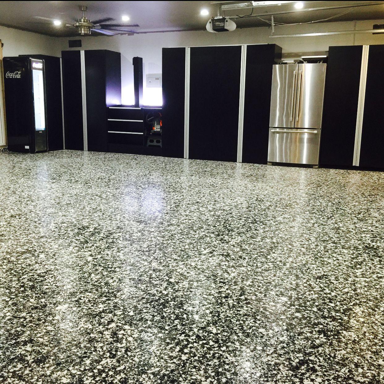 Garage Epoxy Floor Coating: 3rd Place $50 Winning Photo