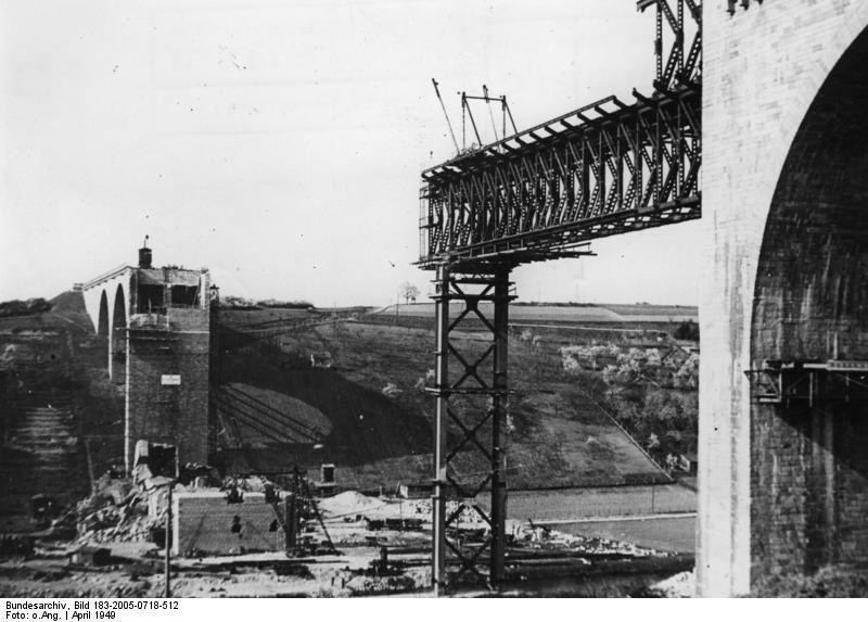Lahntalbrücke 1949