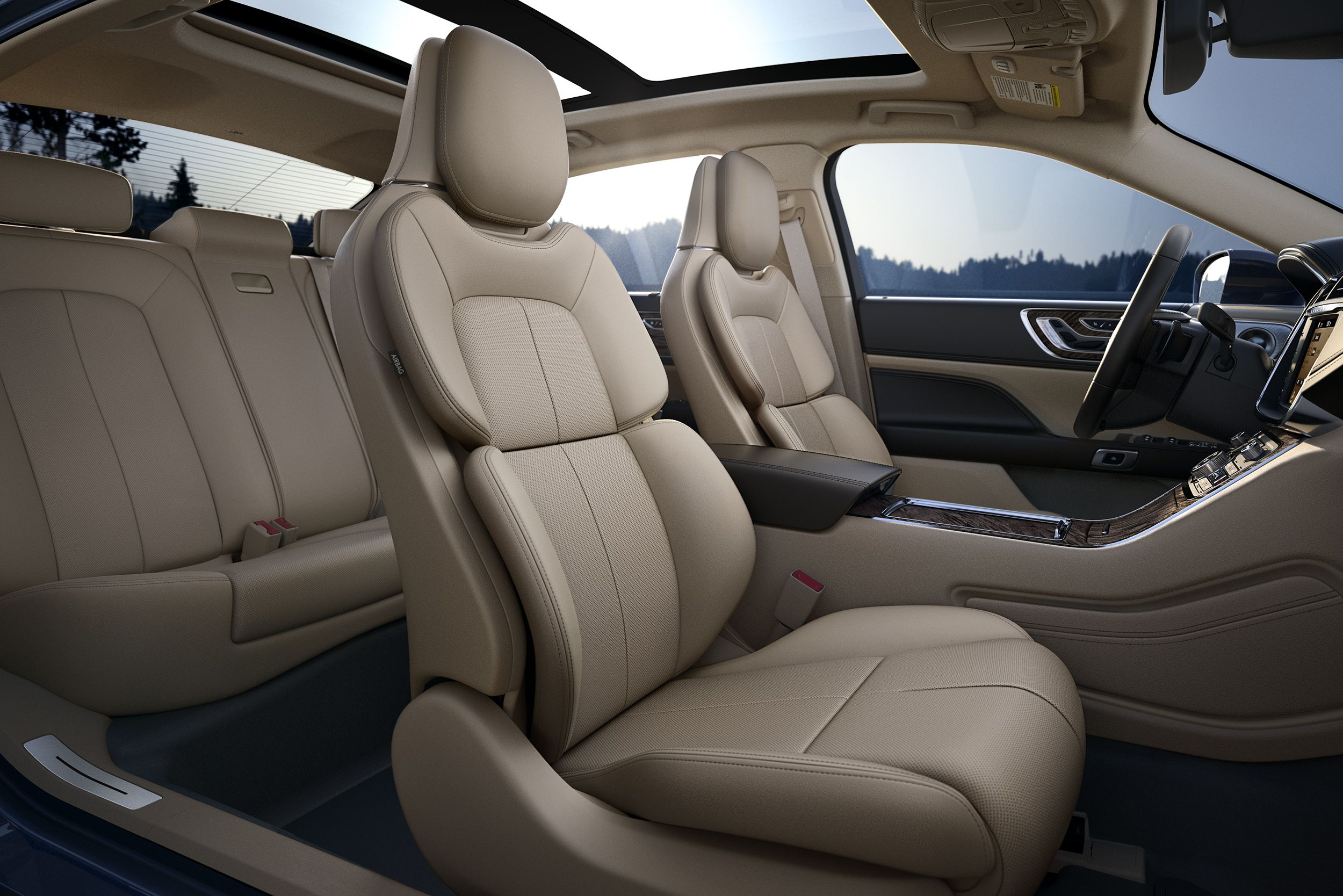 The 2017 Continentals Perfect Position Seat Touts Thigh Extenders And Thirty Ways Of Movement That Can Be Adjusted For Maximum Comfort HowContinental