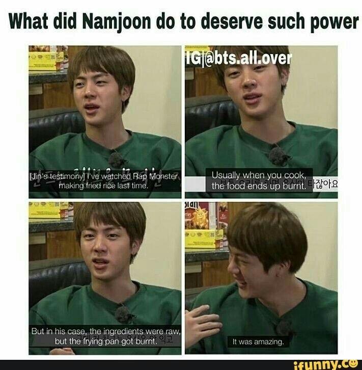 Jin And Rm Bts Memes Kpop Memes Bts Bts Memes Hilarious