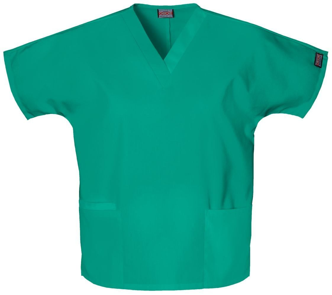 Women's Workwear V-Neck Top - Surgical Green
