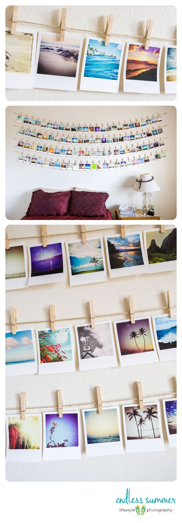 Polaroid Photo Wall Something Similar For Reference Photos Quick Sketches Concepts And - Bilder Aufhängen Ideen