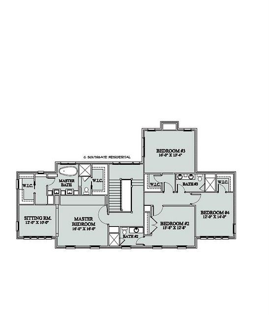 4 Very Nice Sized Bedrooms. I'd