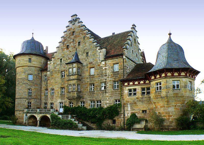 Schloss Eyrichshof Ebern De Burgen Und Schlosser Burg Hauser Deutschland Burgen
