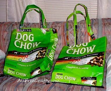 Dog Bag Tote Diy Dog Bag Dog Bag Plastic Bag Crafts