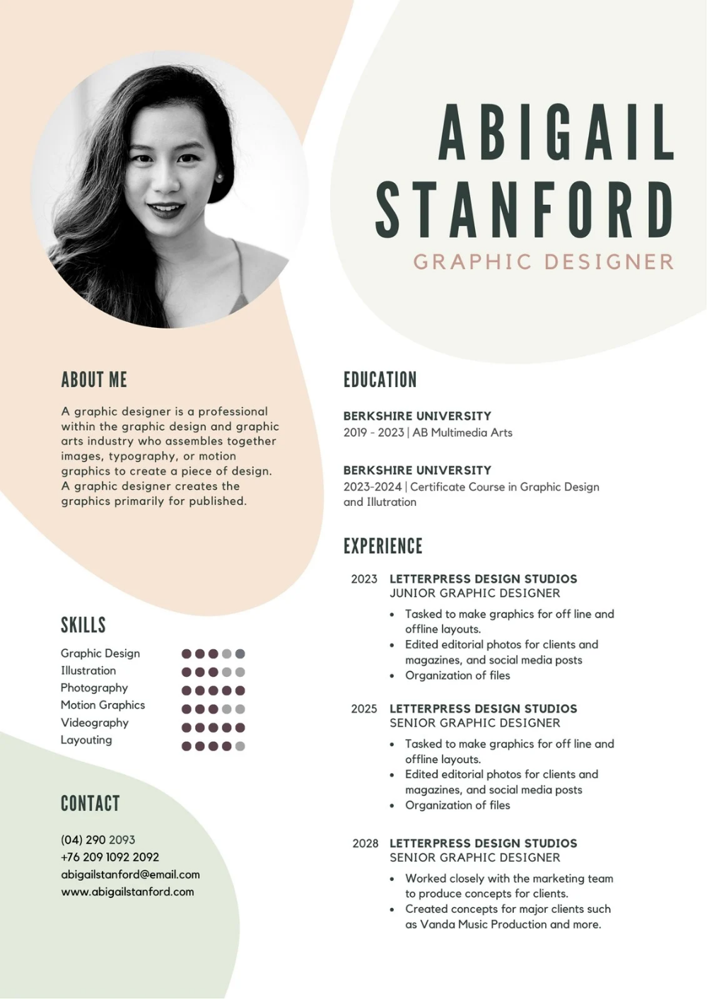 Customize Free Creative Resumes Templates Online Canva
