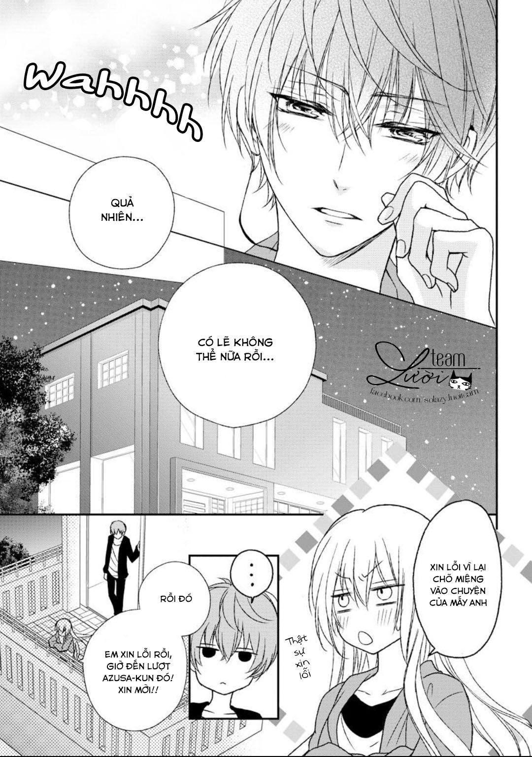 Netsuai Prince Onii Chan Wa Kimi Ga Suki Chap 4 Manga Hinh Vui