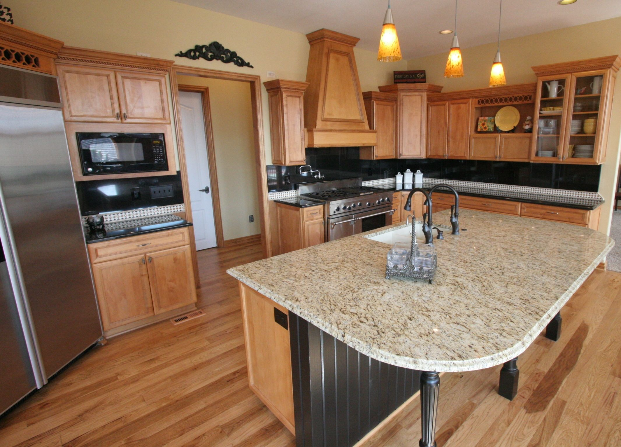 U0027Tune Upu0027, Modify Island To One Level, Granite, Backsplash.