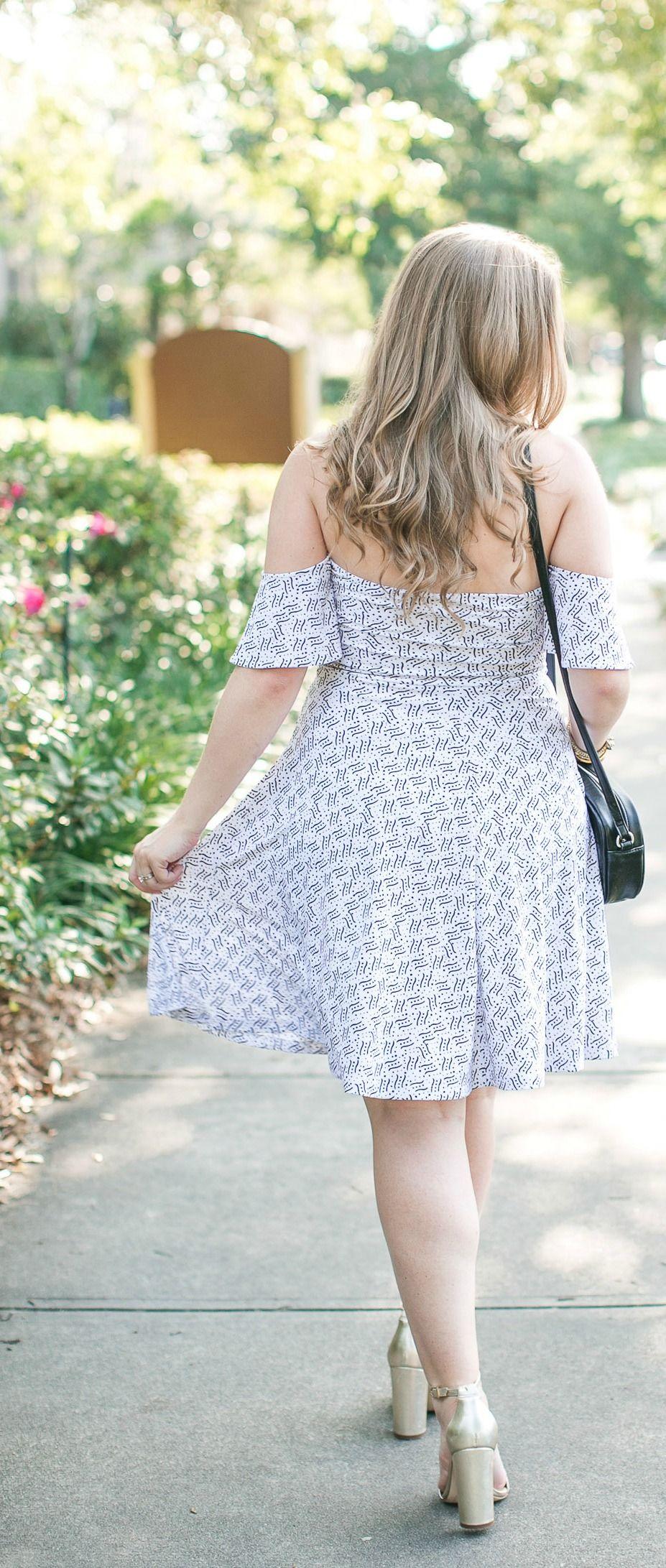 Leith Off The Shoulder Dress under $40   Ashley brooke, Summer ...