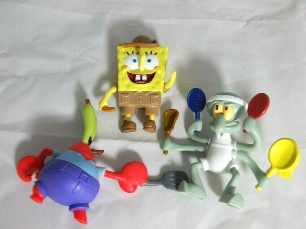Mcdonalds Spongebob Squarepants Squidward Mr Krabs Burger King
