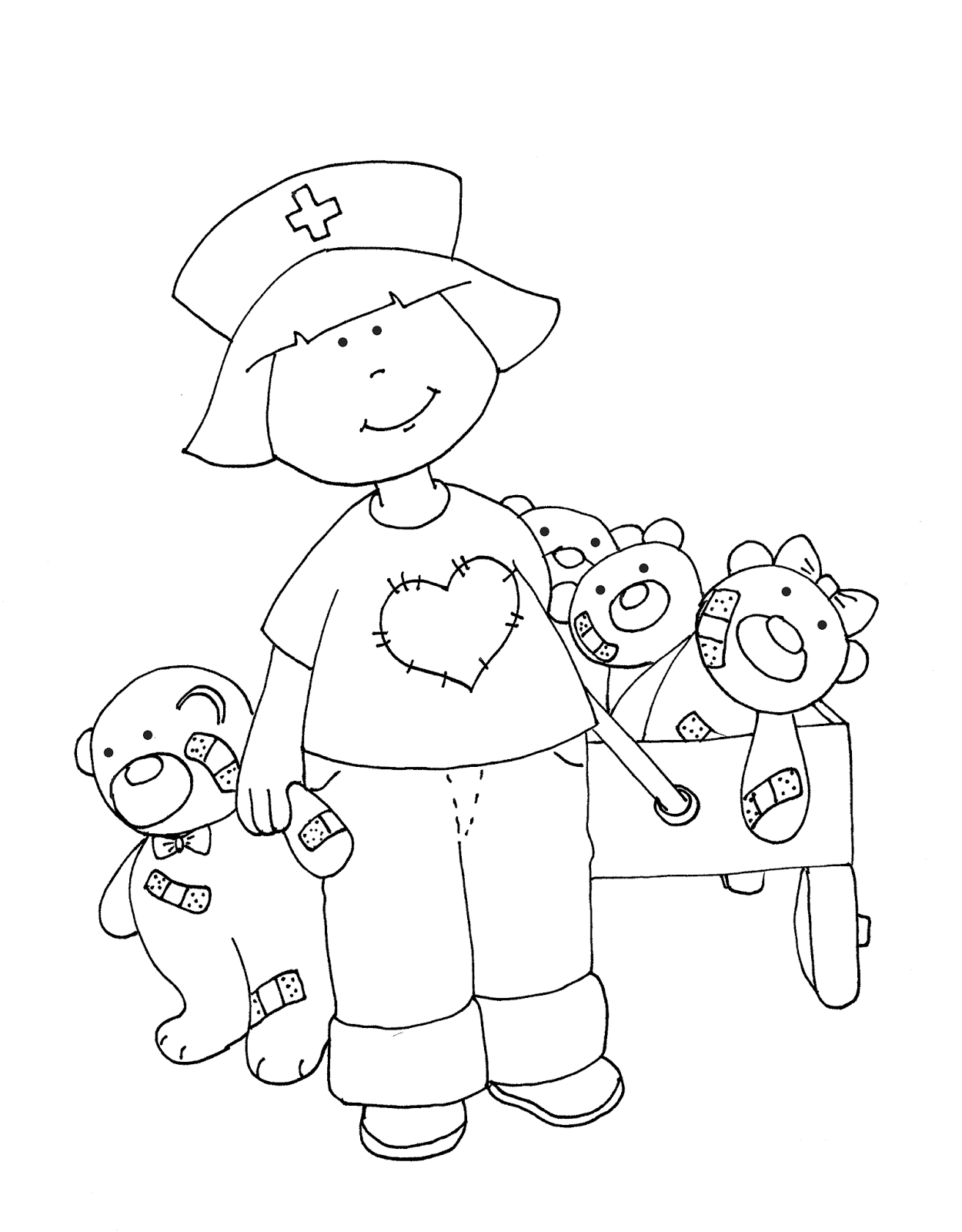 Nurse with Wagon of Bears.png (PNG Image, 1250 × 1600