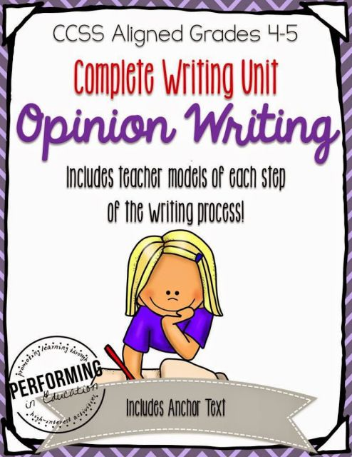 008 Great books to read for opinion writing pieces. Teach On