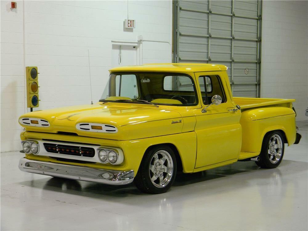 1961 CHEVROLET CUSTOM PICKUP – Barrett-Jackson Auction Company – World's Greatest Collector Car Auctions