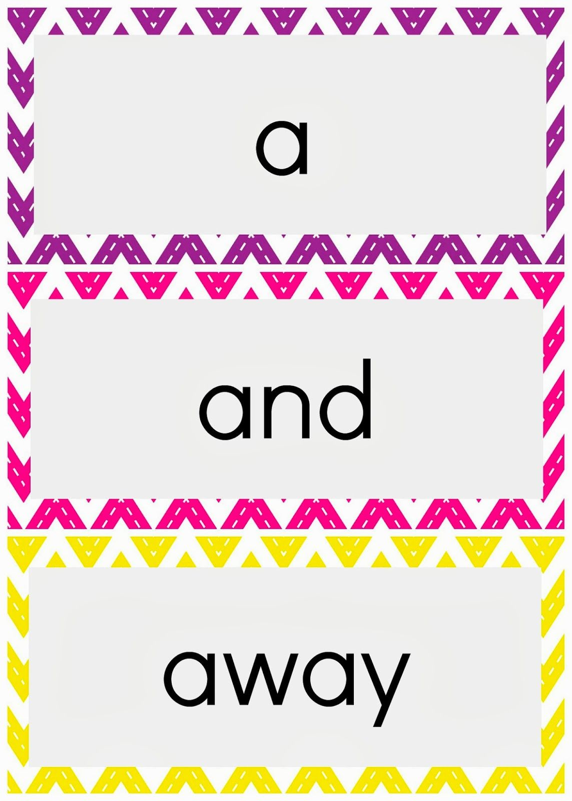 Pinkie And The Bean Dolch Preprimer Sight Word Cards