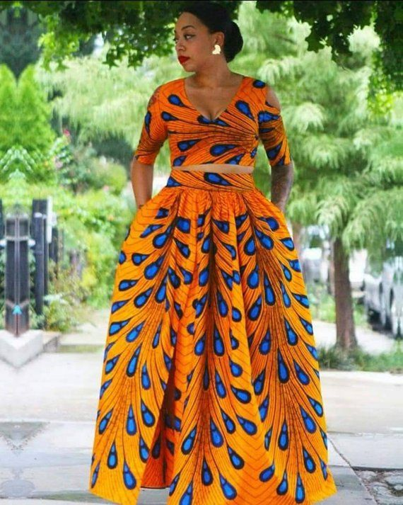 bc1b1e473b6 African top and skirt