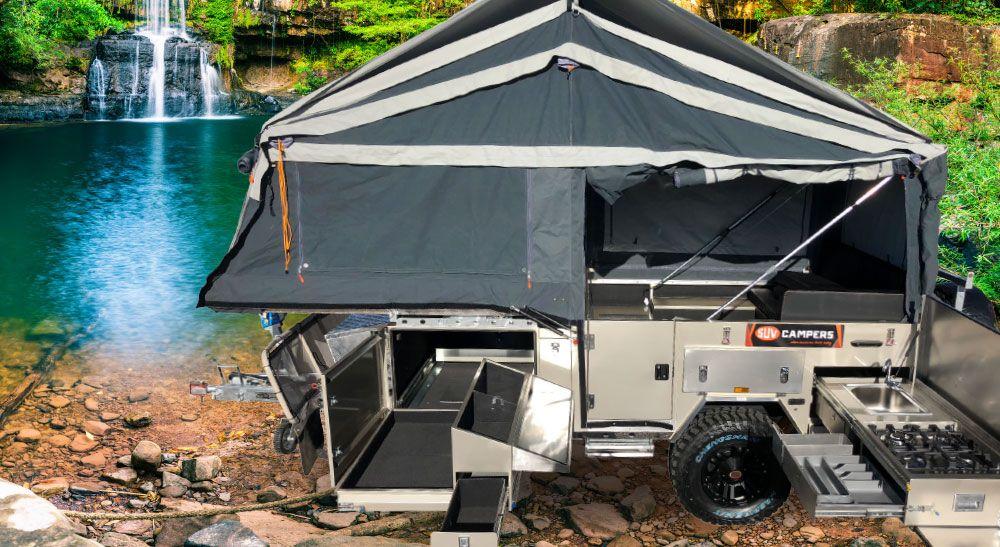 SUV GT MEGA DELUXE Aluminum roof, Suv, Steel water tanks