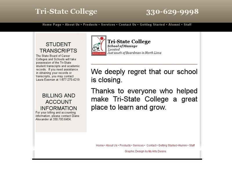 Tristate college state college university list college