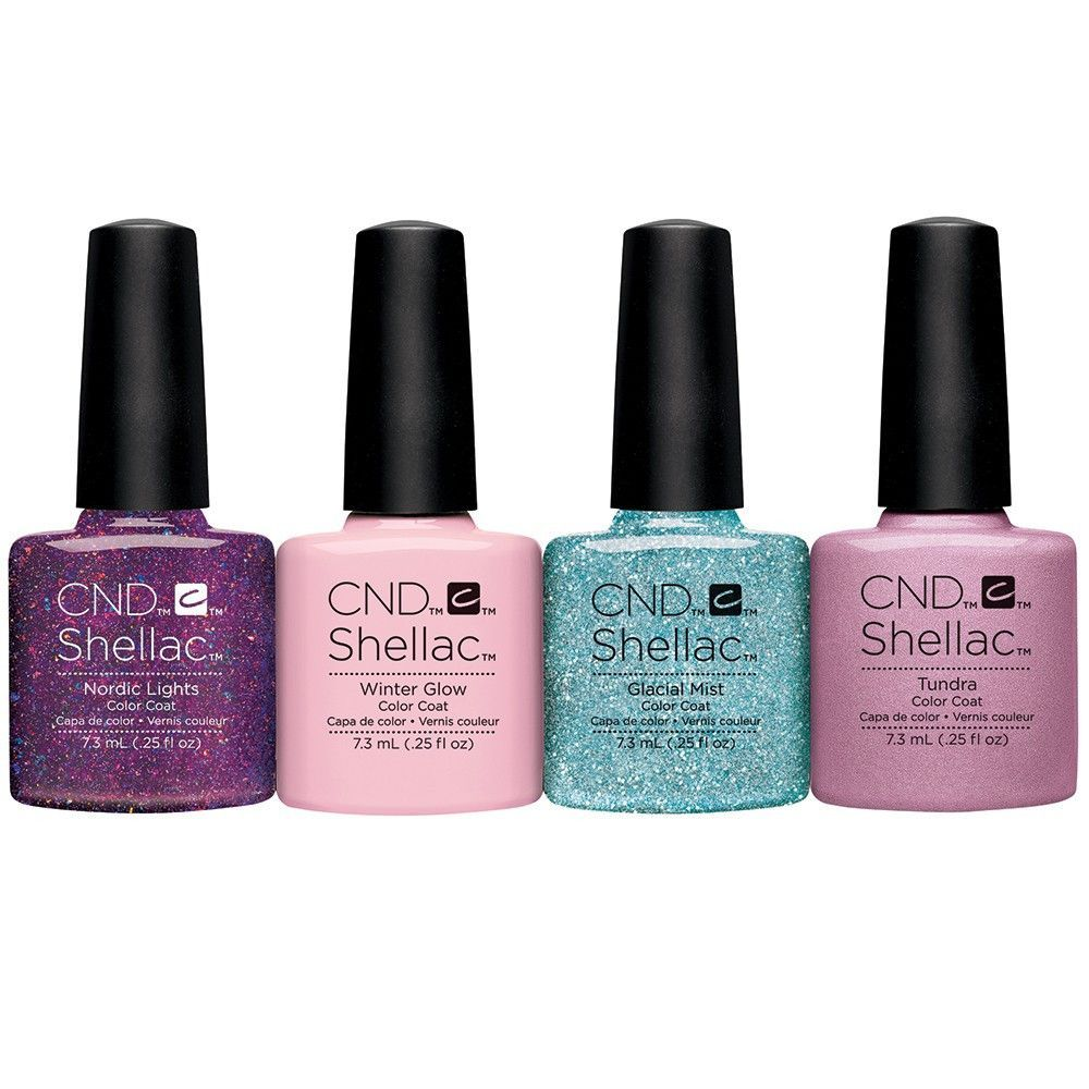 CND Shellac Aurora Collection 4-pk. | Getting my Nails did ...