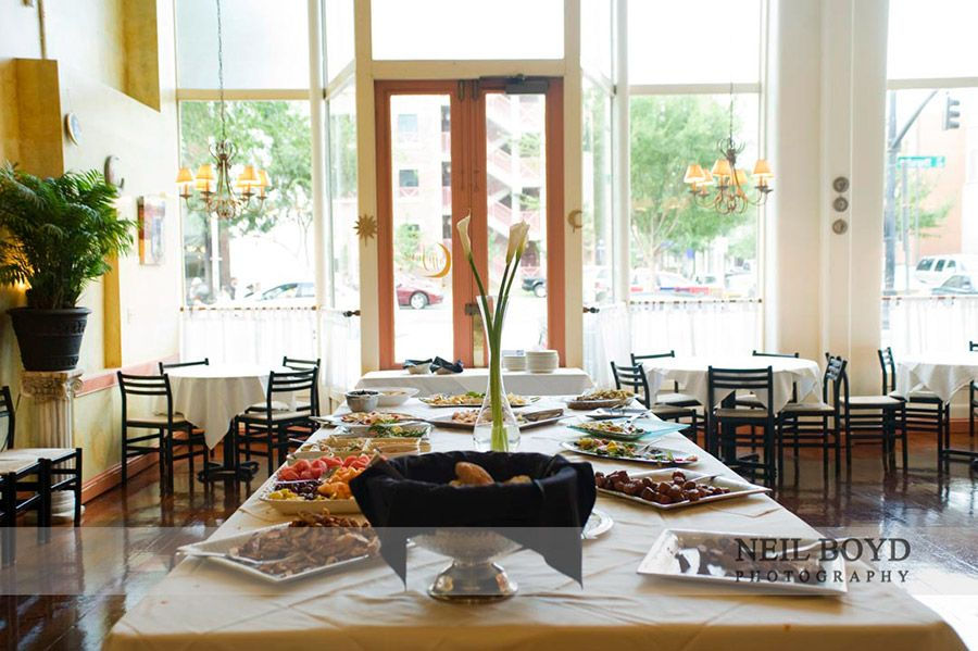 Cafe Luna For Smaller Wedding Receptions In Downtown Raleigh Nc