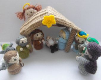 Free Amigurumi Nativity Pattern : Amigurumi nativity scene crochet pattern pdf instructions