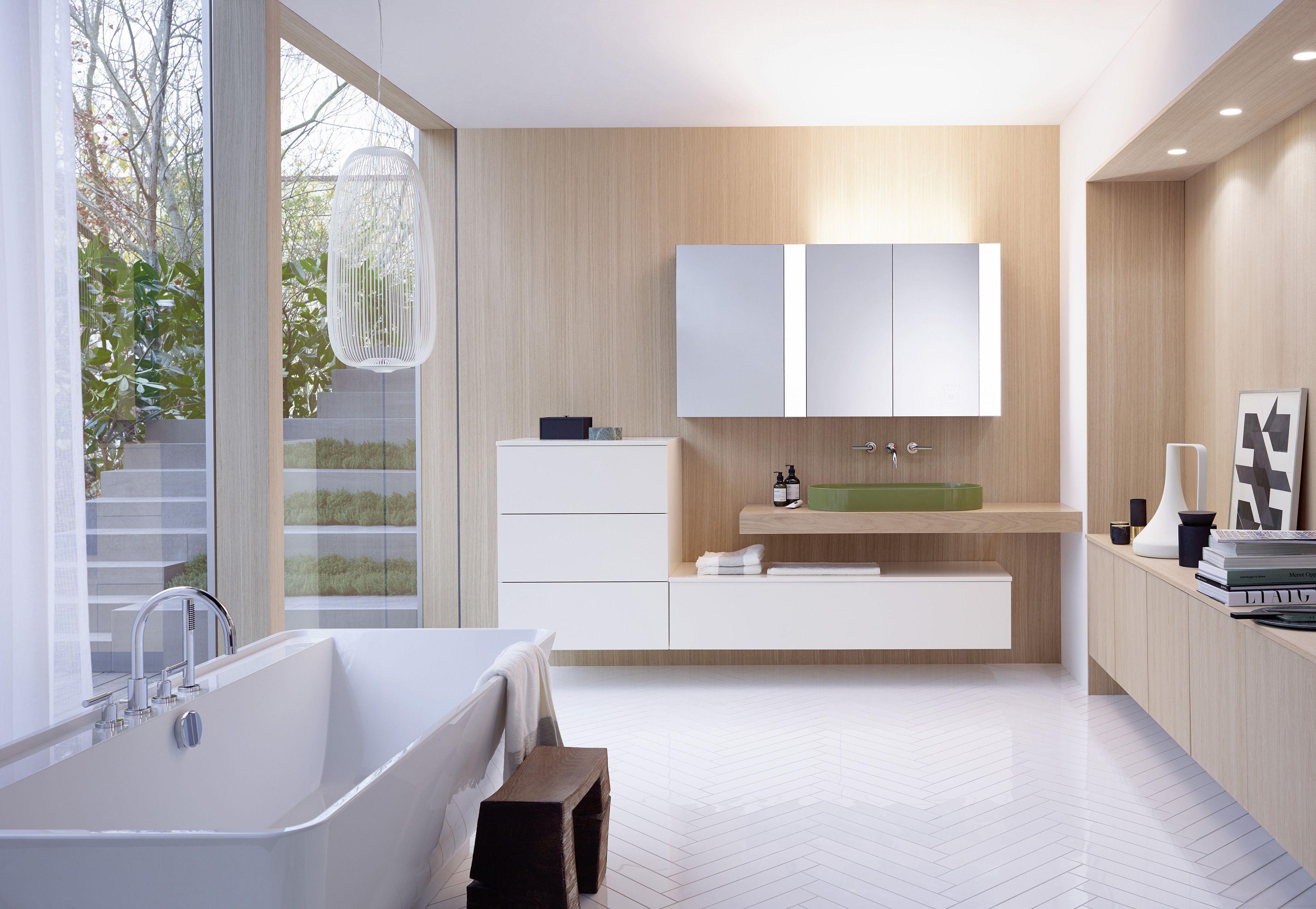 Licht im Bad So der Spiegelschrank für Entspannung