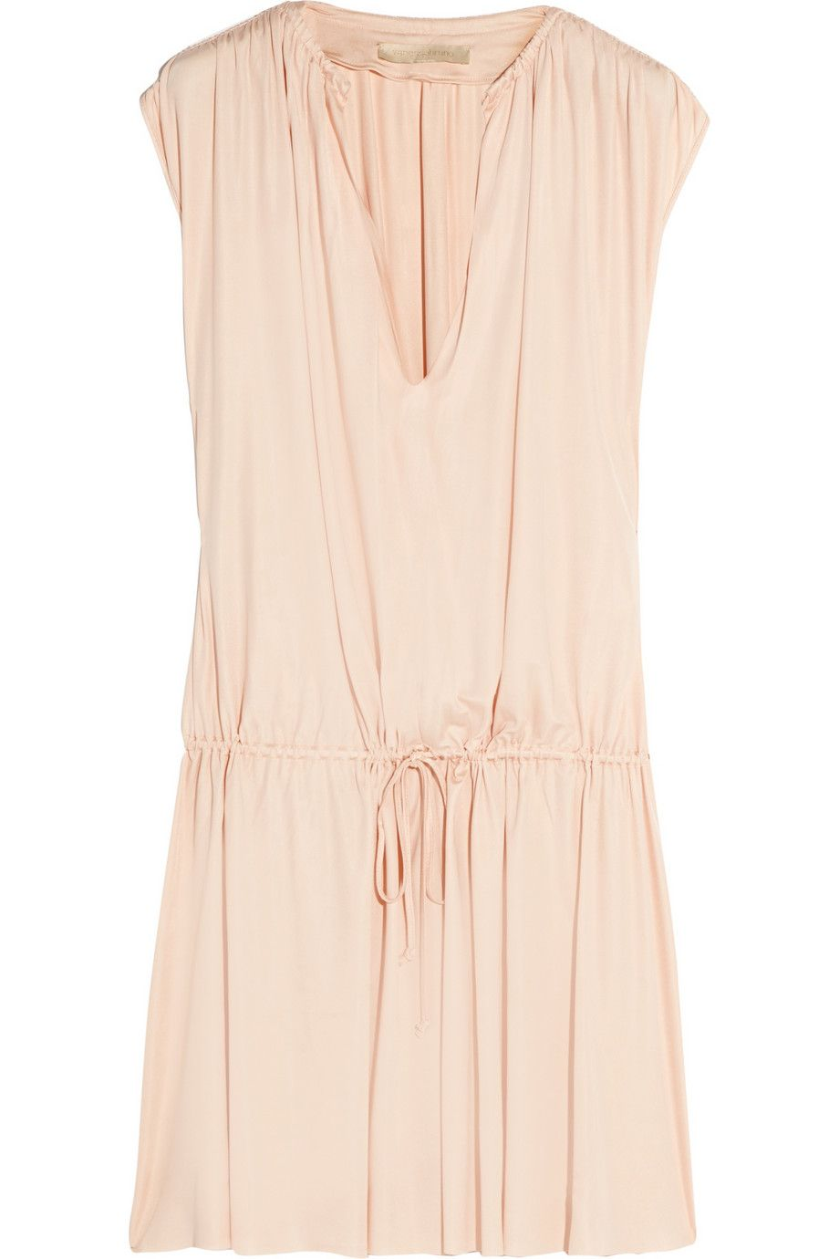 Vanessa Bruno | Cyclades pleated jersey dress | NET-A-PORTER.COM