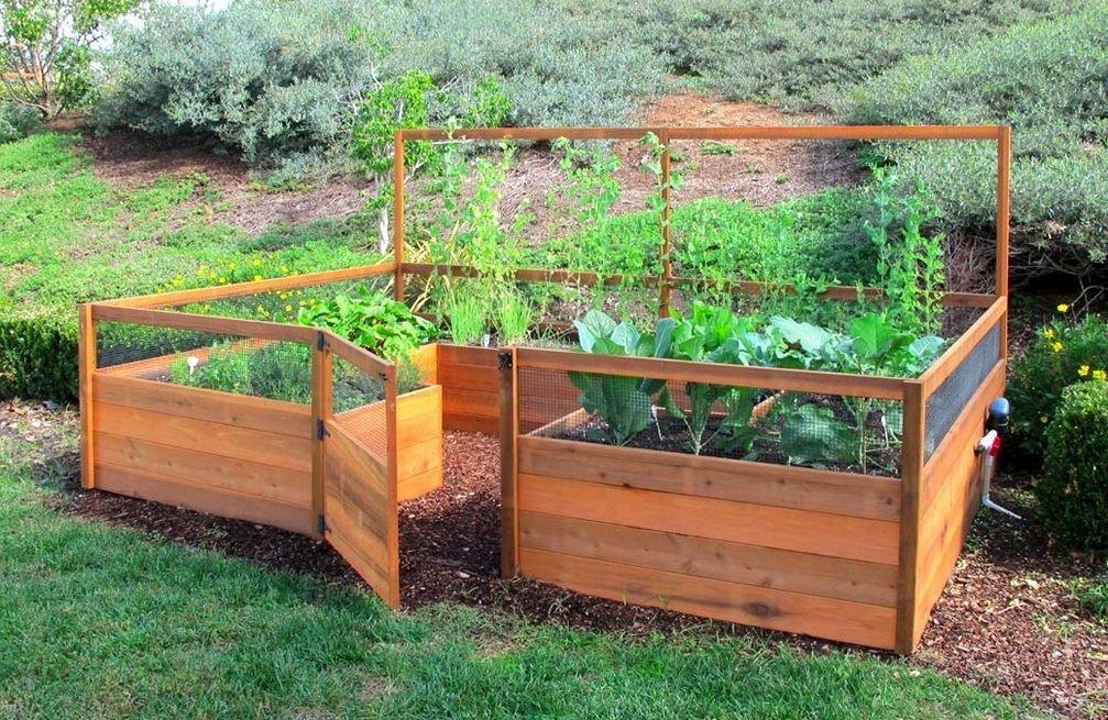 Raised Pallet Garden Box Ideas