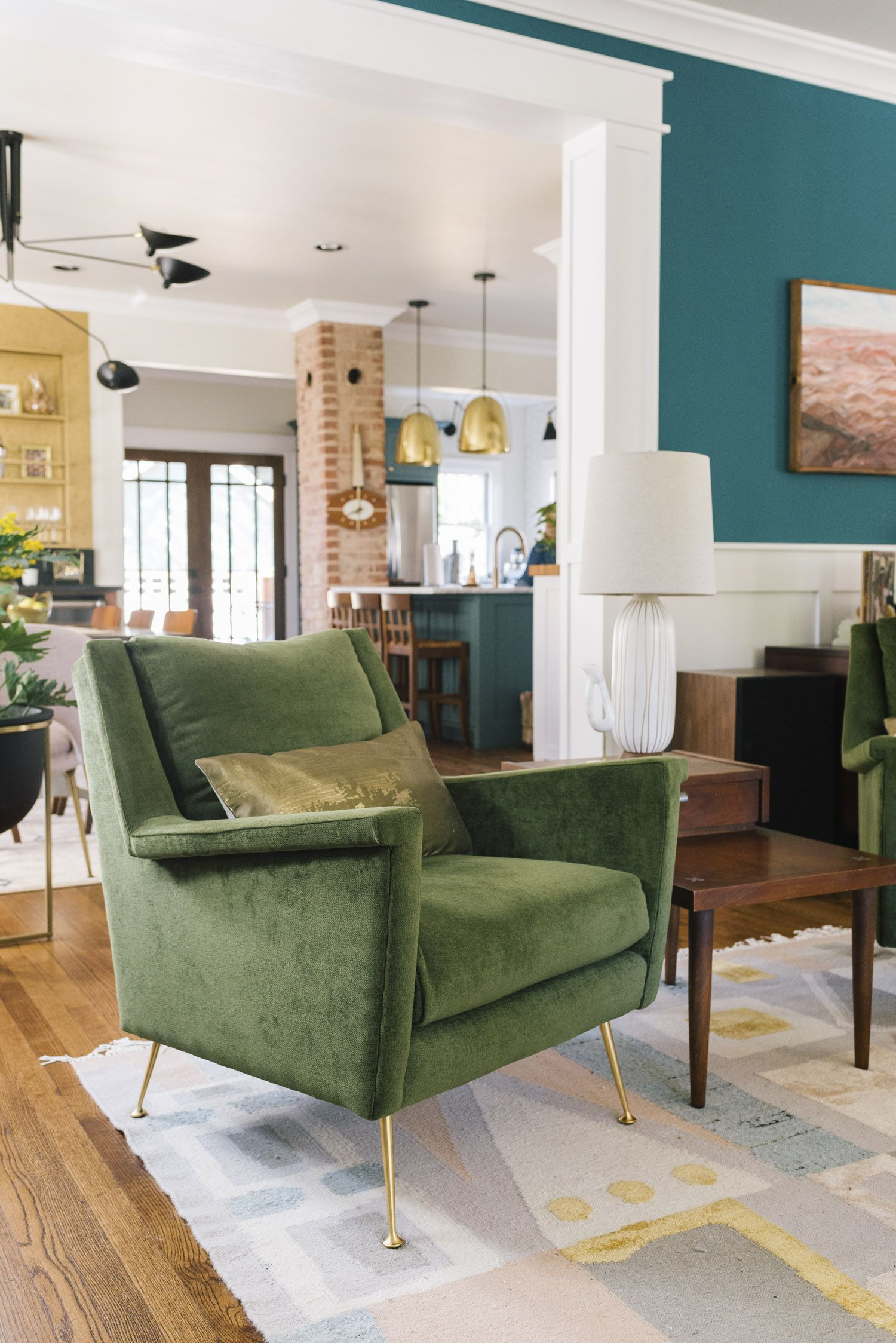 A Century Old Shaker Style Home Gets Modernized Front Main