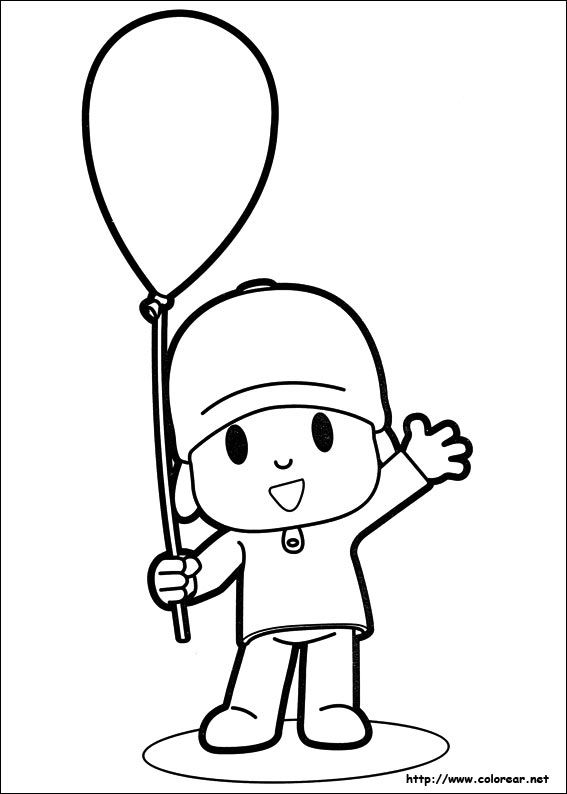 Pin by Amorie van Straaten on Drawing | Coloring pages, Pocoyo, Birthday
