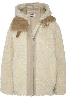 Acne Velocite shearling jacket | NET-A-PORTER