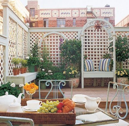 roof garden! Unorganized messiness Pinterest - como decorar un techo de lamina