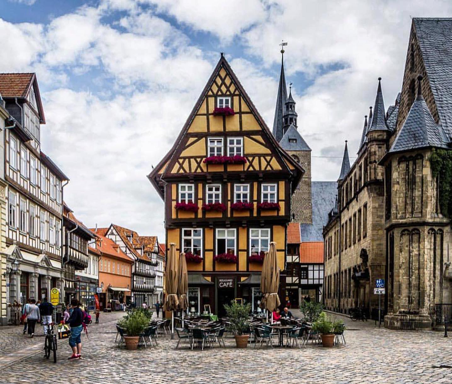 Quedlinburg, Germany Foto del mundo, Lugares hermosos