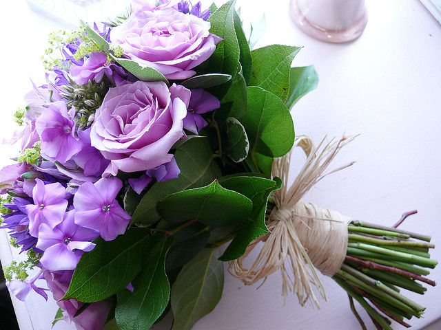 Lilac wedding bouquet!