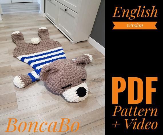 Tutorial Crochet Plush Teddy Bear