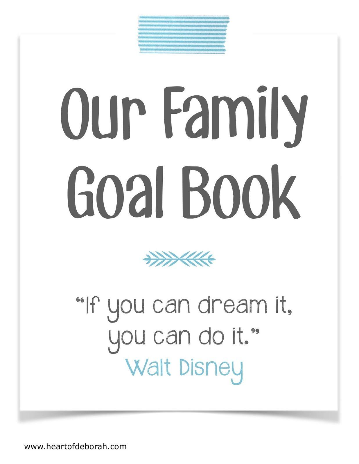 Family Goal Book
