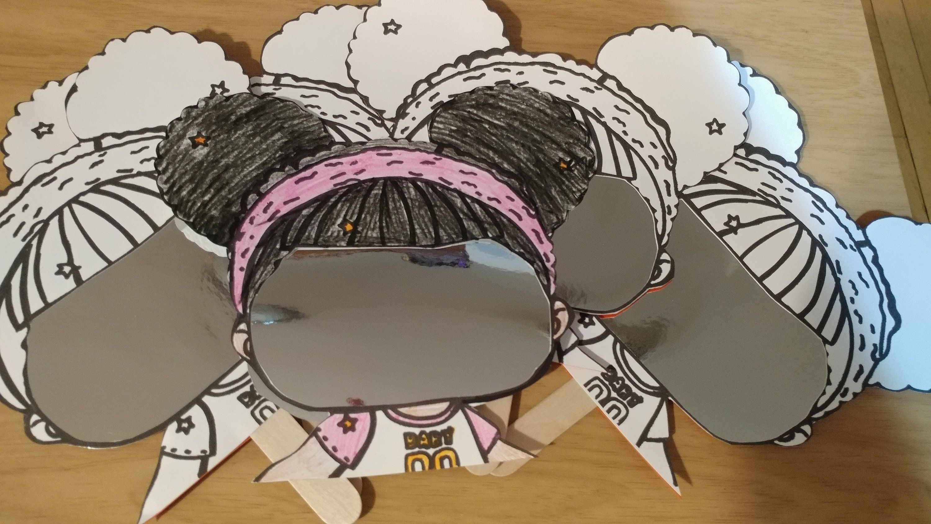 Lol Surprise Doll Mirror Craft Lol Doll Party Activity Games Lol