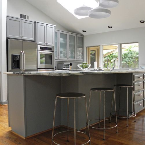 20 Ideas For Grey Kitchens Both: Sherwin Williams Amazing Gray Home Design Ideas, Pictures