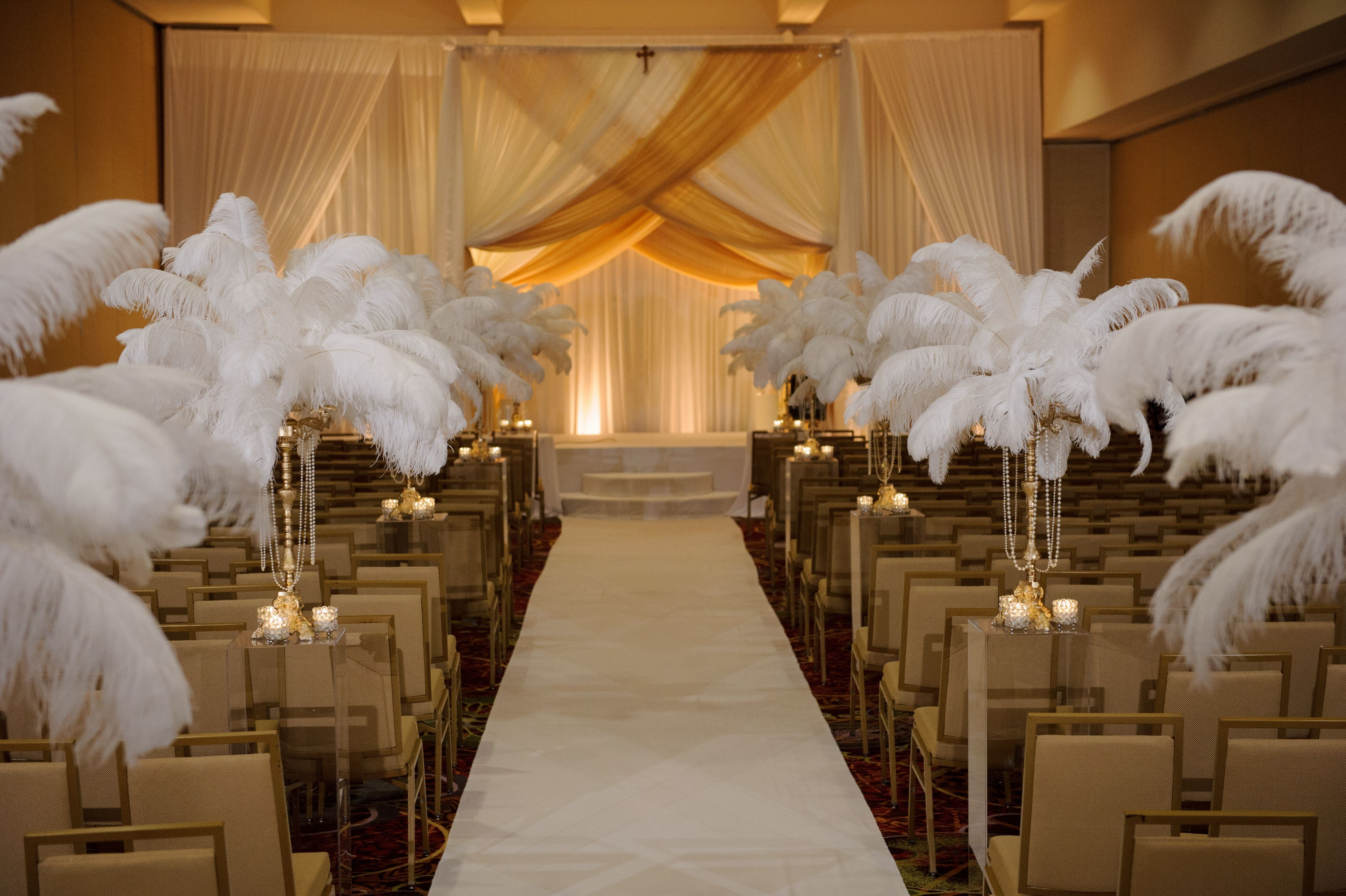 a great gatsby themed wedding & ceremony in the lincolnshire