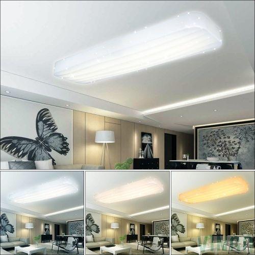 30W Wellig LED Deckenleuchte Starlight Effekt Wohnzimmer Deckenlampe