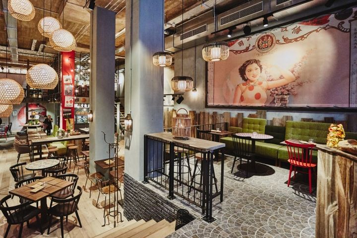 coa hamburg restaurant by dippold hamburg germany retail design blog in commercial. Black Bedroom Furniture Sets. Home Design Ideas