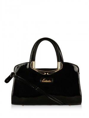 Esbeda Patent Leather Handbag From Koovs