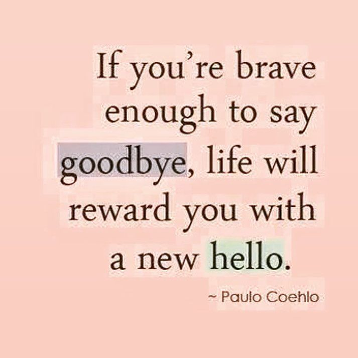 Embrace new beginnings Love this quote from Paulo Coehlo. #strongeryou #selflove #newstart #brave